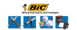 Pens from Bic Graphic